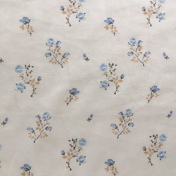 tissu motifs fleuris imprimé exclusif coton