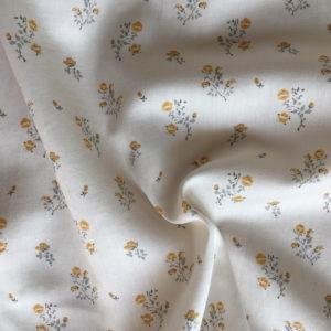 clos luce moutarde tissu coton