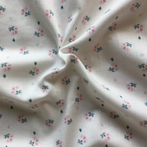quincampoix rose blush tissu coton